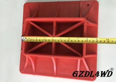 ABS Jeep Off Road Parts ,  Red Hi Lift Jack Base Plate Plastic Material pemasok