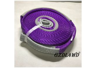 Recovery Kits 4x4 Off Road Accessories  Vehicle Tow Straps Purple Shock Absorbent pemasok
