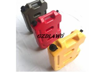Truk 4x4 Off Road Accessories / 10L ABS Plastic Jerry Gas Can pemasok