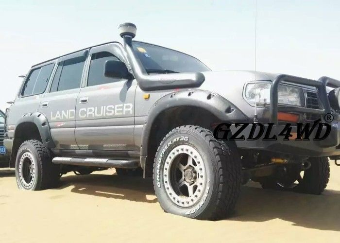 Cina 4x4 Land Cruiser Off road Fender Flares LC80 FJ80 4500 Pocket Style 1997 - 2007 pabrik