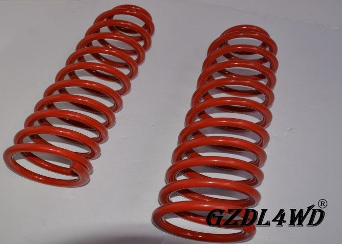 Red 4x4 Suspension Lift Kit Coil Spring Parts Untuk Jeep Cherokee XJ