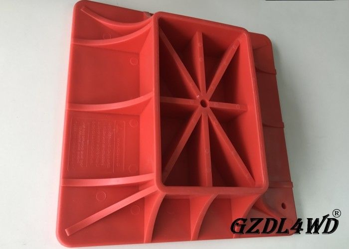 Durable Red 4x4 Off Road Accessories High Lift Jack Base Farm With ANY Model pemasok