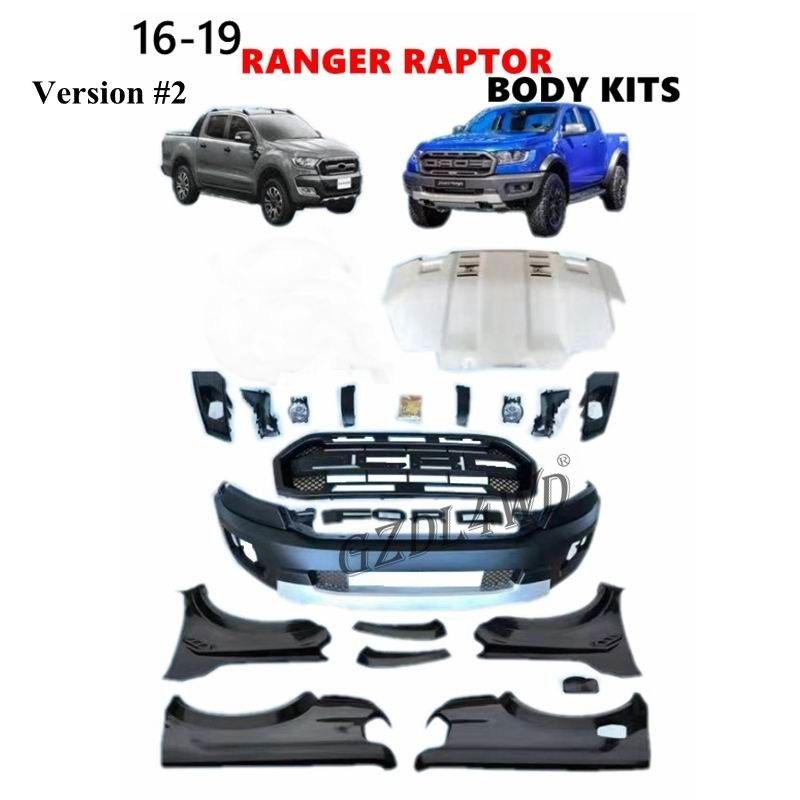 Ford Ranger T7 Wildtrak Raptor Body Kit / Kit Bumper Facelift