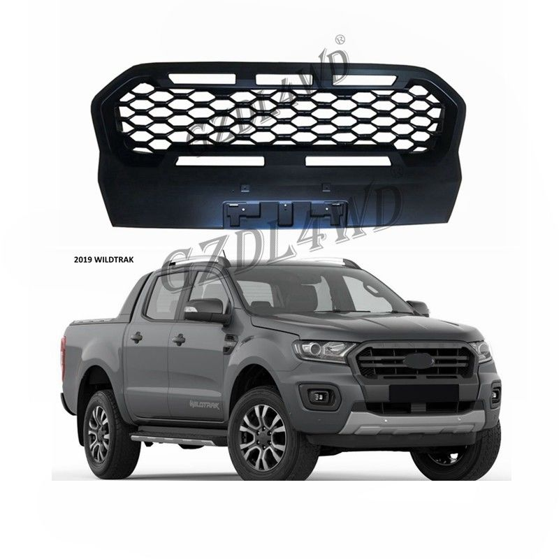 Otomotif Wheel Arch Flare 4x4 Offroad Pickup Aftermarket ABS Kisi Depan Untuk Ford T8 Wildtrack