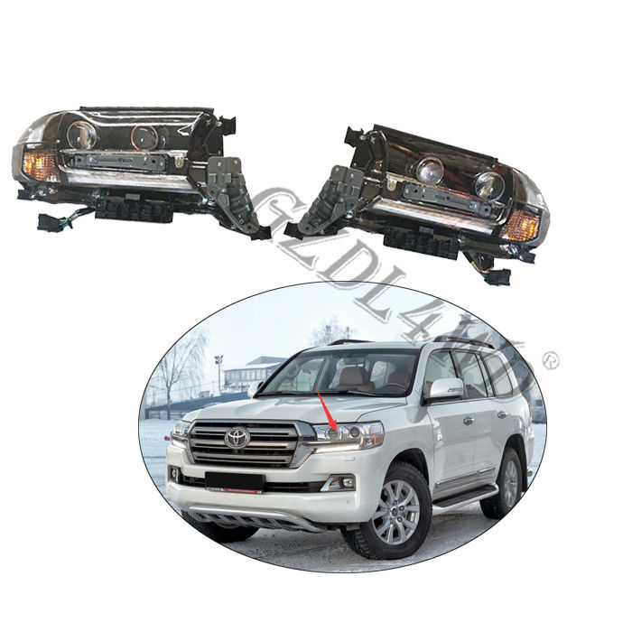 Toyota Land Cruiser Lc200 Prado Lampu LED Bening Bening / Car Head Light