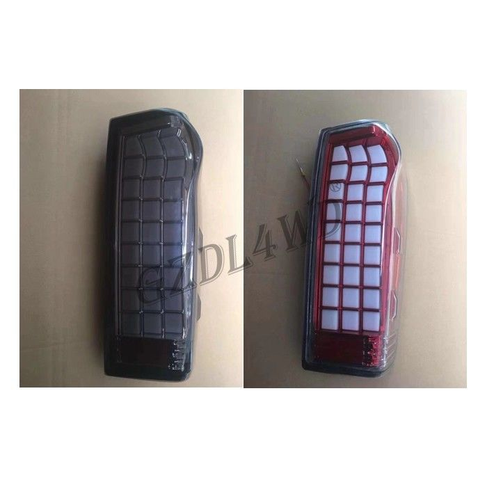 2019 Penggantian Smoked Black Modified 12V LED Tail Light