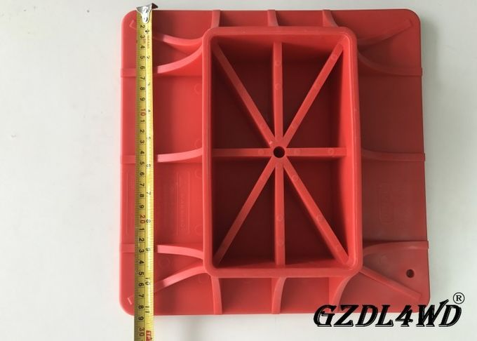Durable Red 4x4 Off Road Accessories High Lift Jack Base Farm With ANY Model